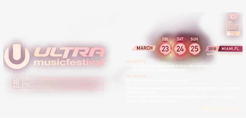 Ultra Music Festival, transparent png #3765940