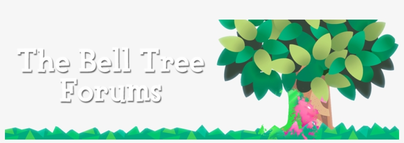 The Bell Tree Forums - Animal Crossing Fall Tree, transparent png #3766217