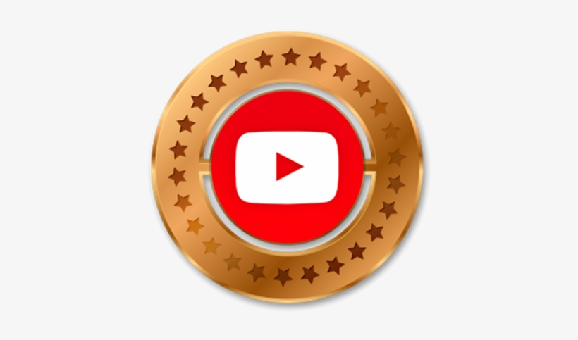 1 Youtube View - Round Border Of American Flag, transparent png #3768494