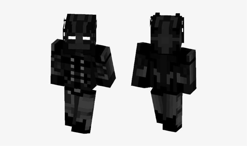 Comics Minecraft Skins - Spider Man Noir, transparent png #3770062