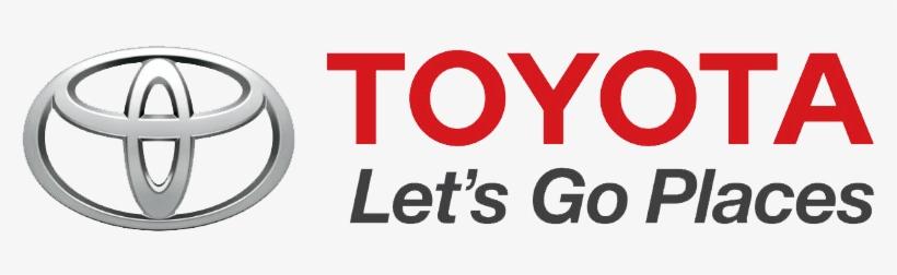 Toyota Logo Png Clipart - Let's Go Places Slogan, transparent png #3770188
