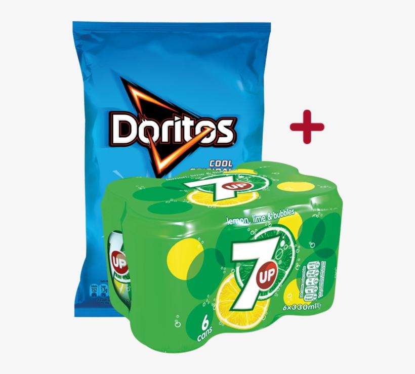 7up Doritos Deal - Doritos Cool Original Sharing Tortilla Crisps, transparent png #3772015