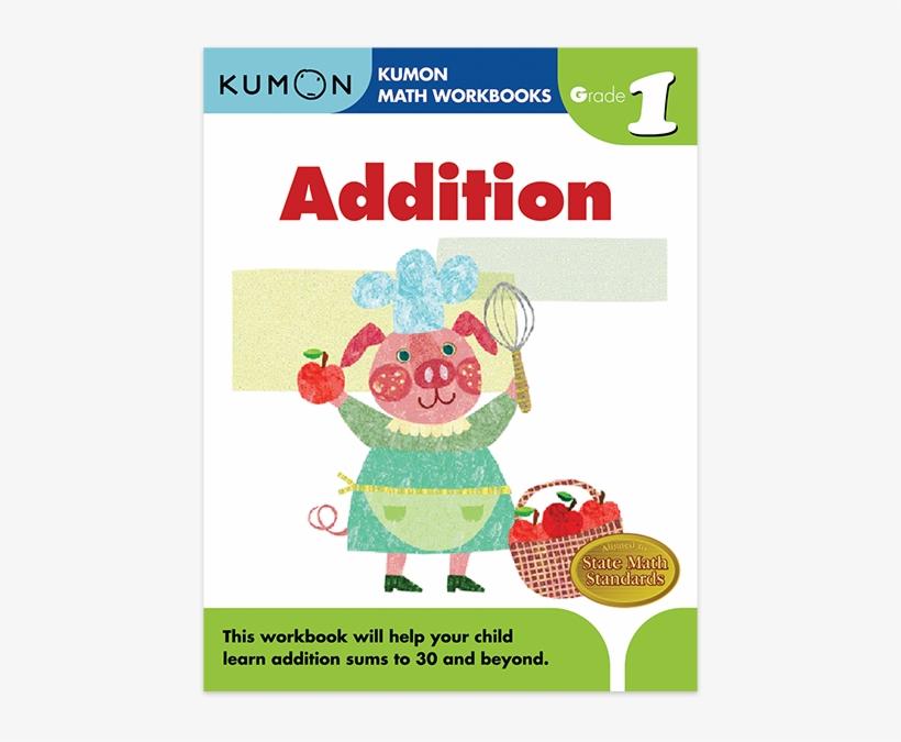 Grade 1 Addition - Kumon Books Grade 1, transparent png #3773374