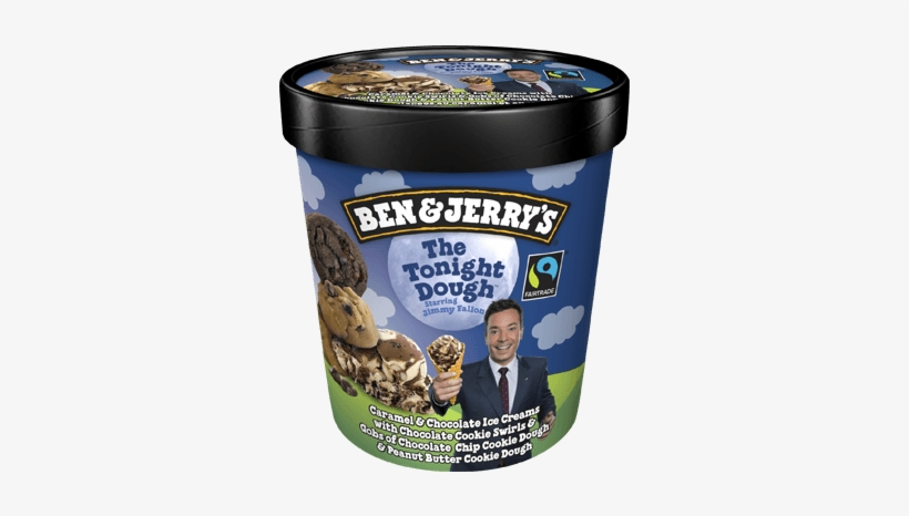 The Tonight Dough® Pint - Ben And Jerry's Ice Cream, transparent png #3774716