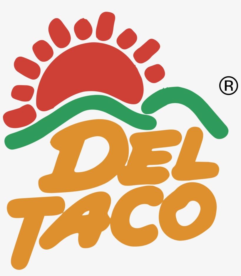 Del Taco 2 Logo Png Transparent - Del Taco Logo, transparent png #3774914