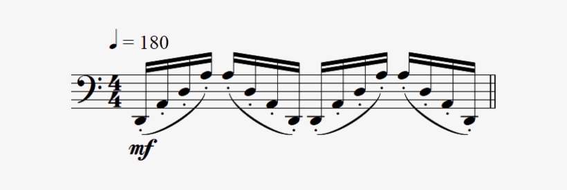 Groups Of Three Or Four Notes Can Therefore Be Played - Comping Bass Jazz Piano, transparent png #3776272