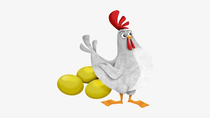 La Gallina De Los Huevos De Oro - Gallina Con Huevos De Oro, transparent png #3777202
