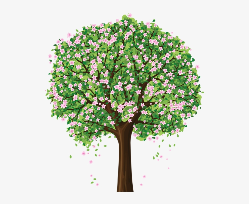 Spring Tree Png Clipart - Spring Tree Clipart, transparent png #3779472