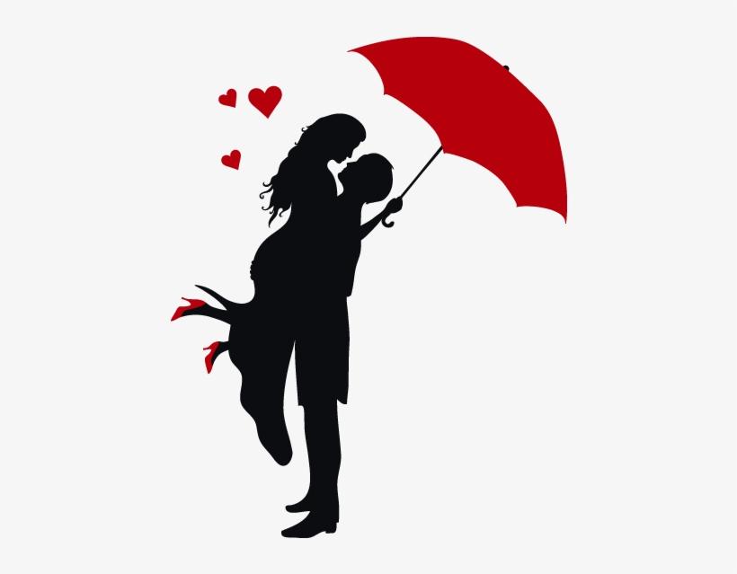 Siluetas De Parejas Enamoradas