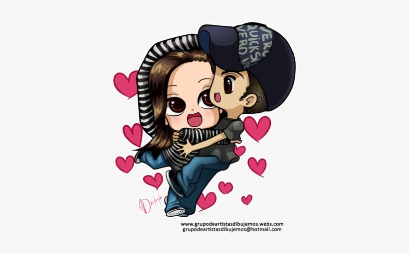 Enamorados Anime Png Imagenes De Chibis Enamorados Free