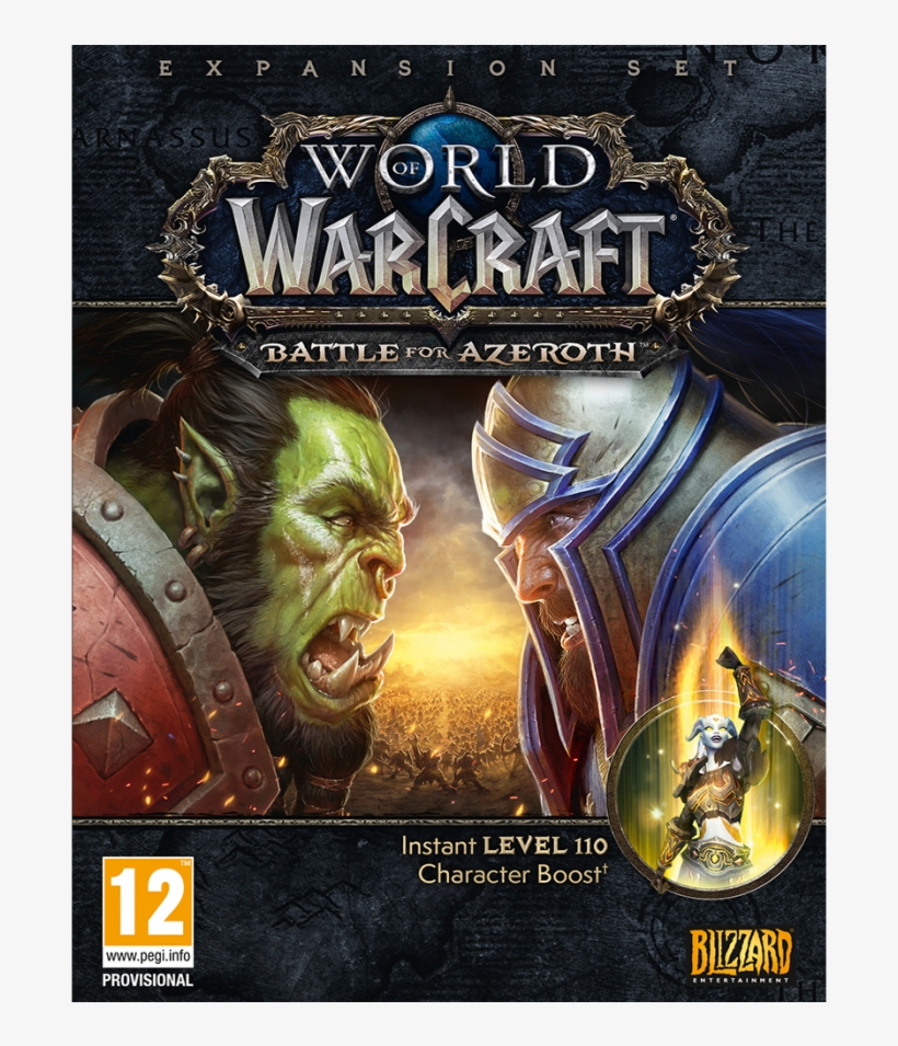 Join The Battle For Azeroth Today With Pre-order Details - World Of Warcraft Battle For Azeroth, transparent png #3780988