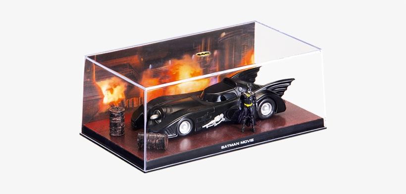 "1 ""batman"" Movie - Altaya 1/43 Batman And 1990's Movie Batmobilemag Ey01, transparent png #3782700"