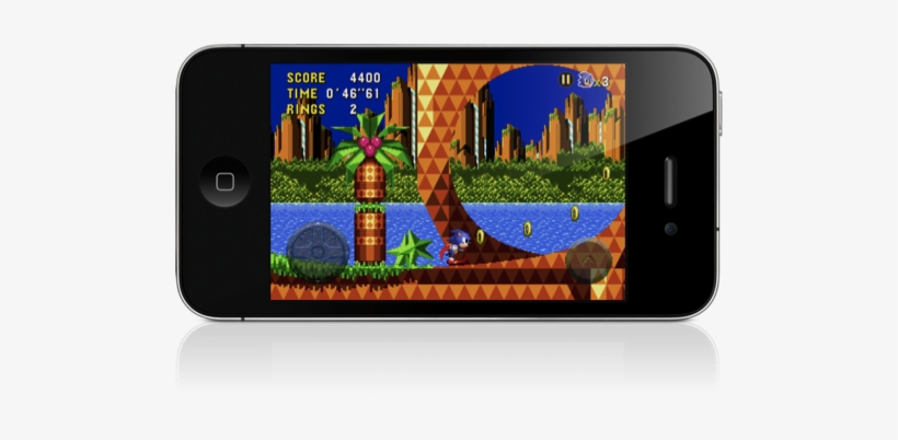 In A Word, Sonic Cd Is Incredible - Download Game Sonic Apk, transparent png #3782799