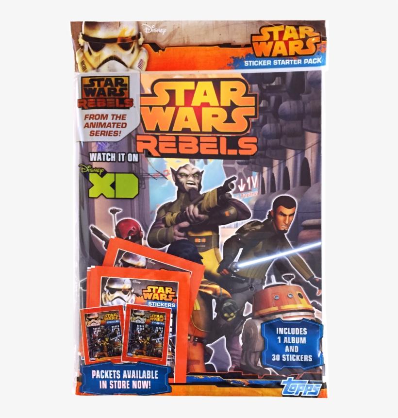 Star Wars Rebels Sticker Collection Starter Pack (topps), transparent png #3785216
