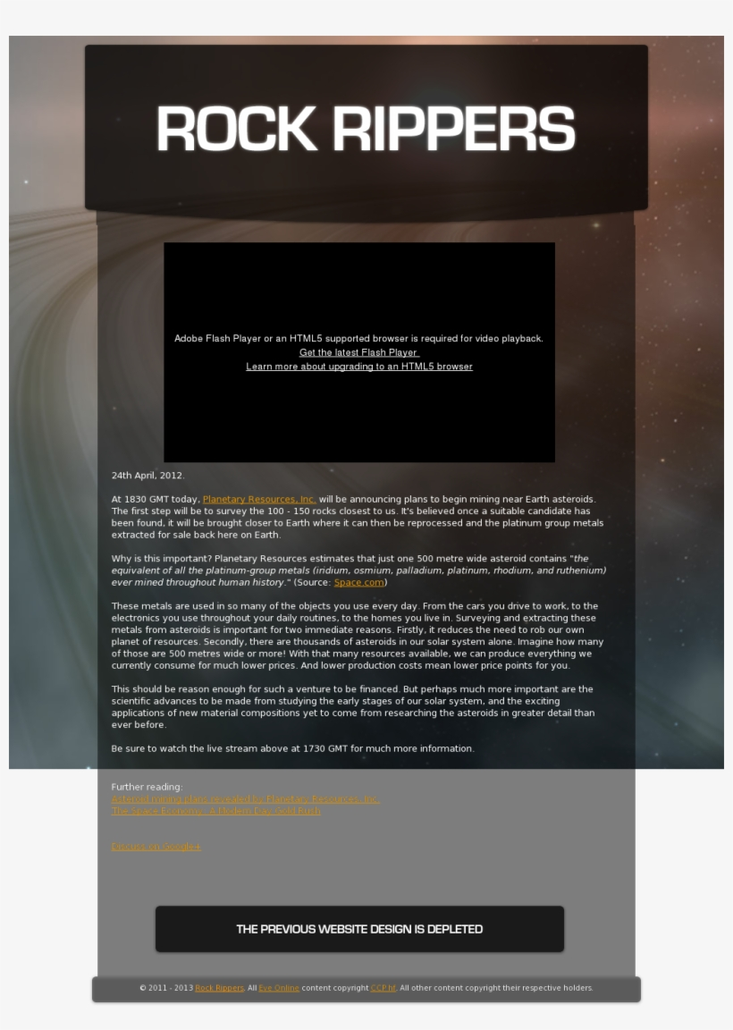 eve online website