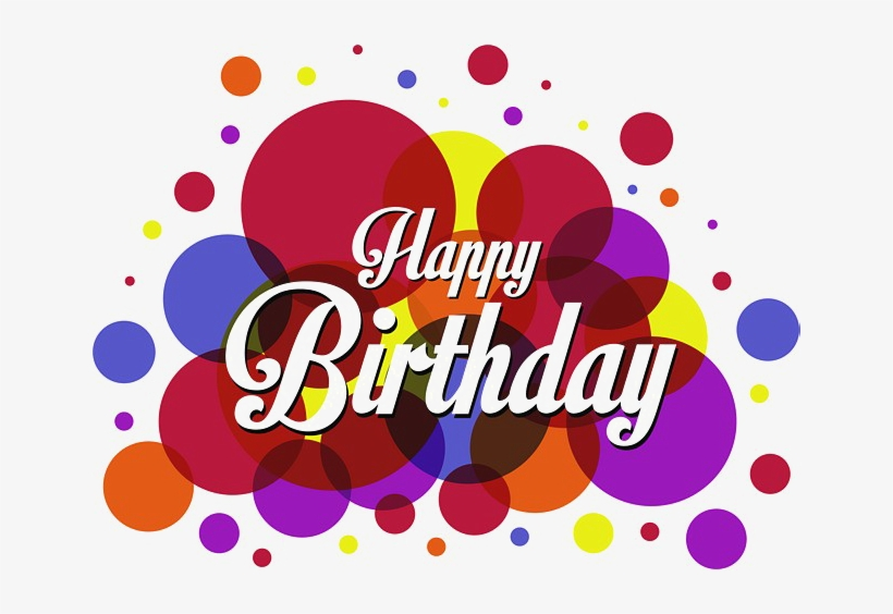 Colorful Happy Birthday Free Png Image Png Arts Happy Birthday Free Png Free Transparent Png Download Pngkey