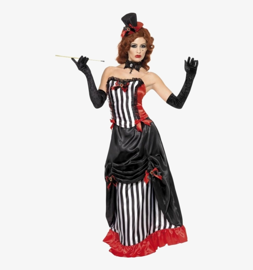 Saloon Outfits Saloon Girl Costumes Parties Costume - Costumes D Halloween Femme 4, transparent png #3787718