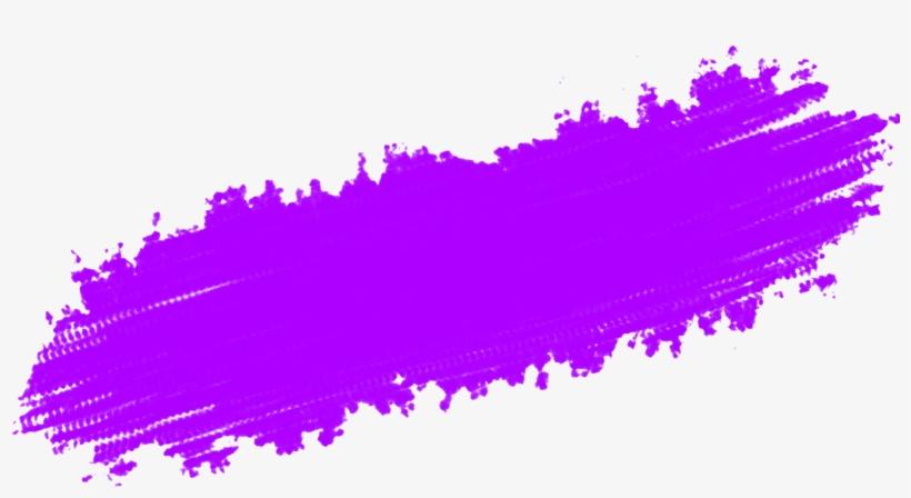 Brush Strokes - Purple Paint Stroke Png, transparent png #3788337