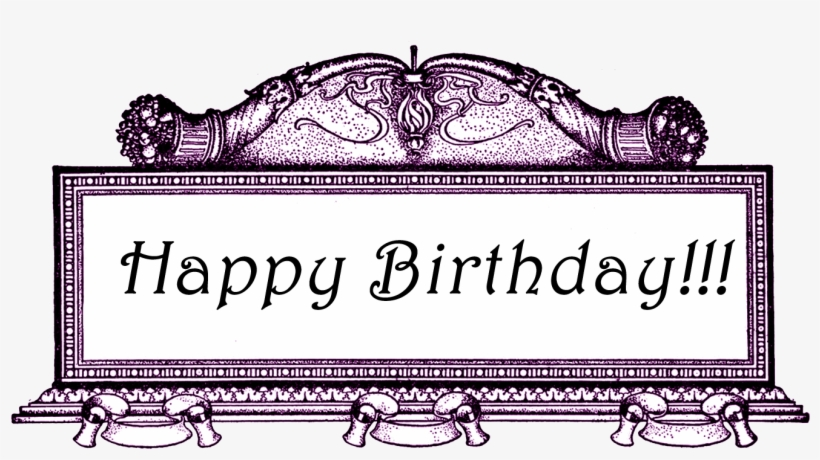 The Above Image Has A Transparent Background - Transparent Background Happy Birthday Frames, transparent png #3792259