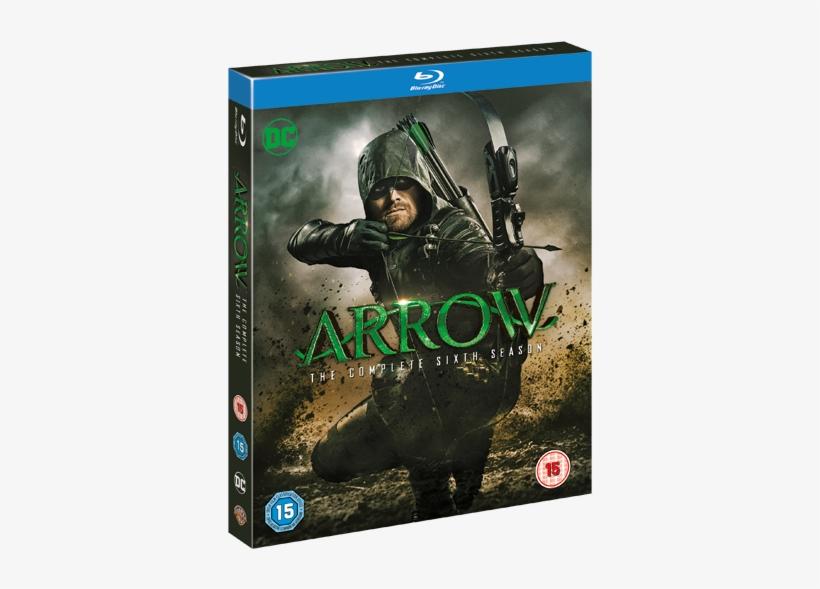 Arrow Season - Arrow Season 6 Blu Ray, transparent png #3796253