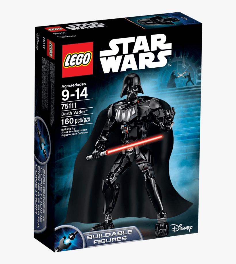 Darth Vader Clipart Round - Lego Star Wars Darth Vader, transparent png #380141