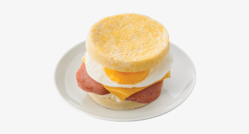 Spam And Egg Sandwich - Ham And Cheese Sandwich, transparent png #380504