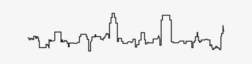New York Skyline Outline Png, transparent png #380912
