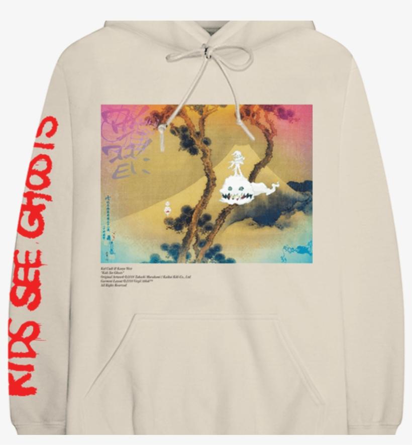 Kids See Ghosts Hoodie V2 Kanye West - Kids See Ghost Shirt, transparent png #381068