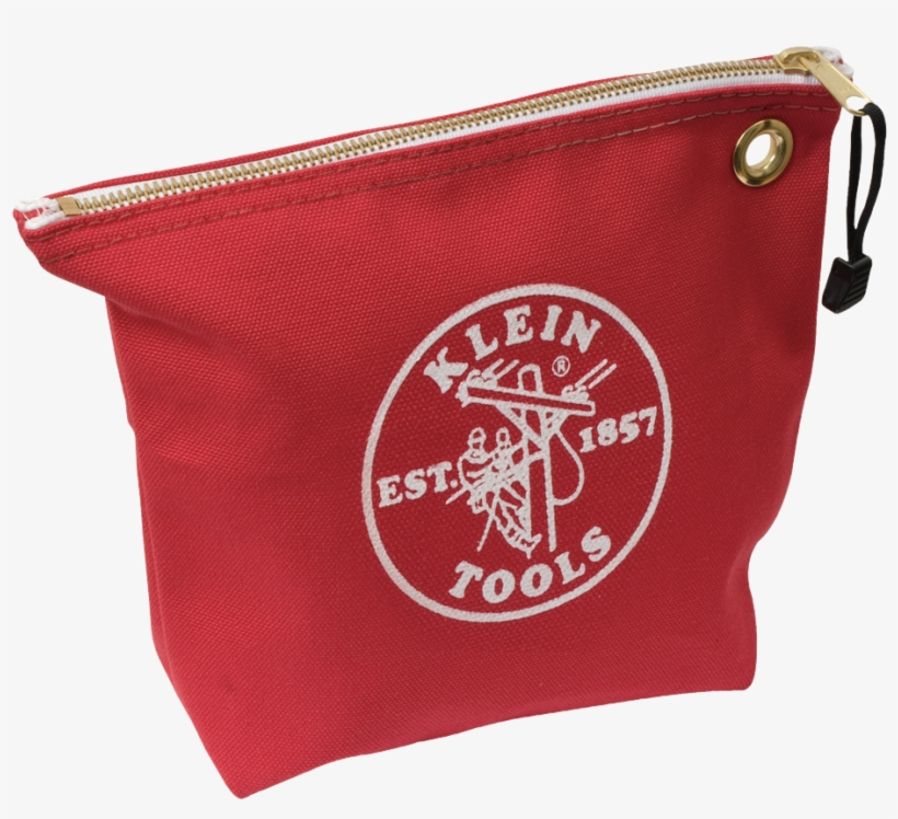 """Png 5539red - Klein Tools 5539red Tool Bag,1 Pocket,10""""x3-1/2""""x8"""",red, transparent png #381669"""