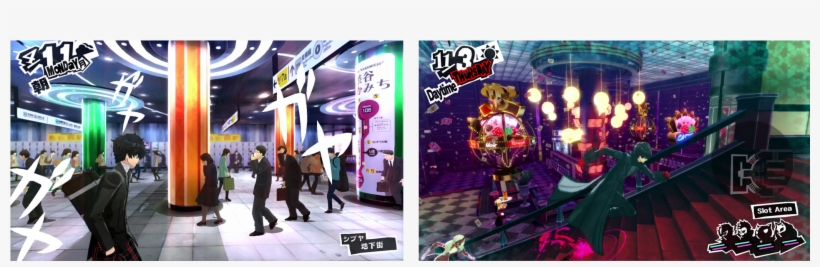 Narratively, It Alternates Between Four Main Premises - Persona 5: Standard Edition [ps3 Game], transparent png #381938