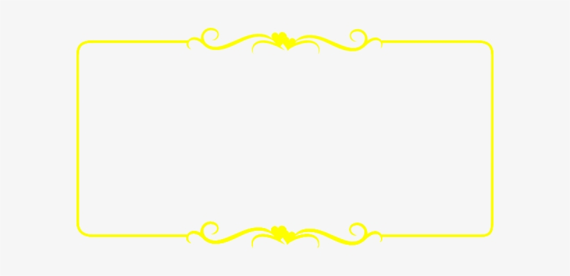 Indian Wedding Card Border Templates Png Transparent Background Yellow Border Transparent Free Transparent Png Download Pngkey