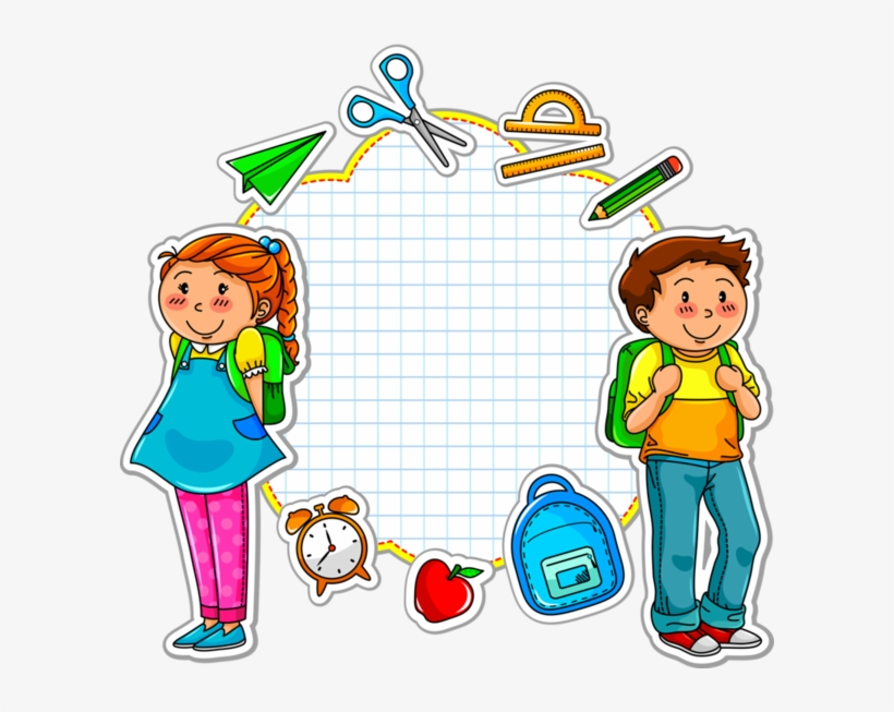 Back To School Kids Png Picture - Connect The Dots And Create A Picture Activity Book, transparent png #382464