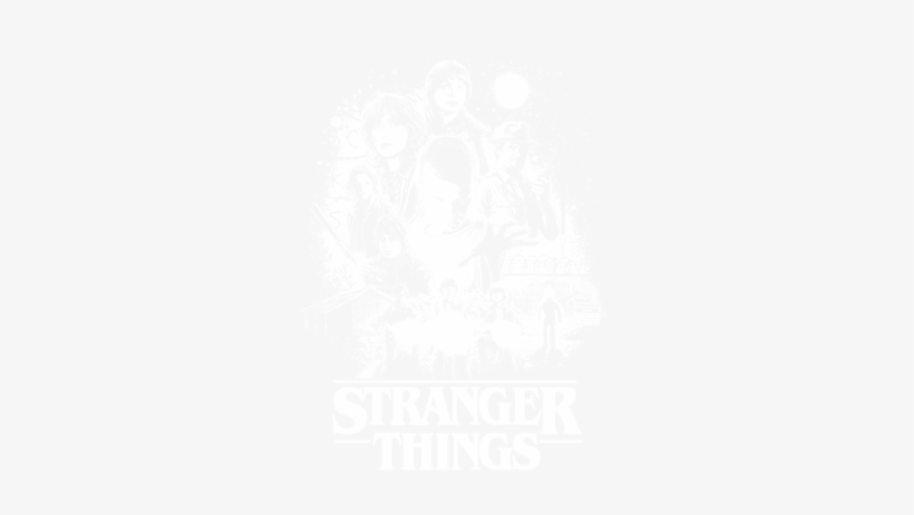 Stranger Things Twitter Header - Free Transparent PNG