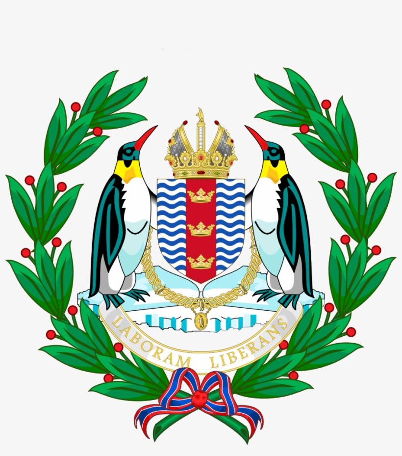 Coat Of Arms Of Roman Antarctica - Antarctica Coat Of Arms, transparent png #385210