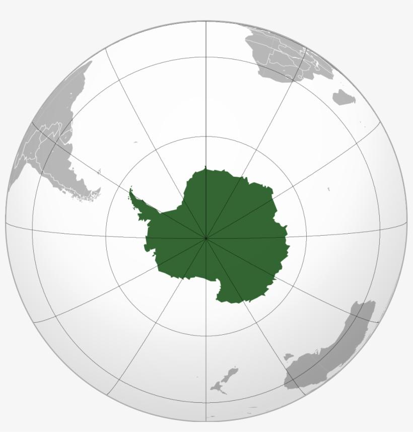 Antarctica - Location Of Antarctica, transparent png #385287