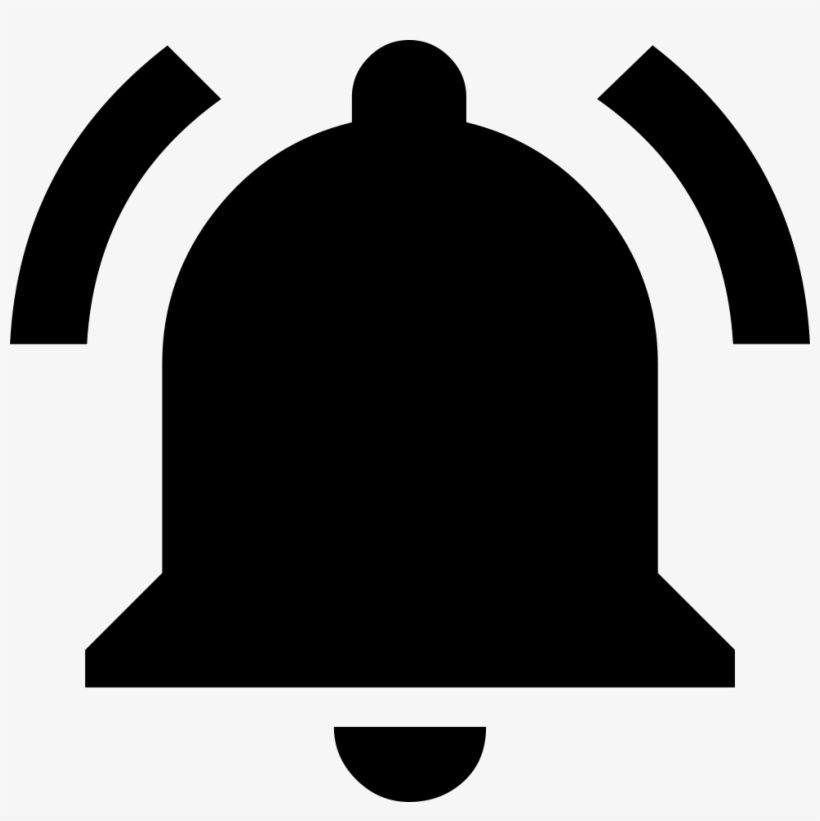 Notifications Active Comments - Notification Bell Black Png, transparent png #385643