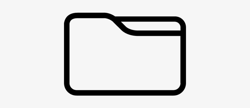 Big File Folder Vector - File Folder Logo, transparent png #386922
