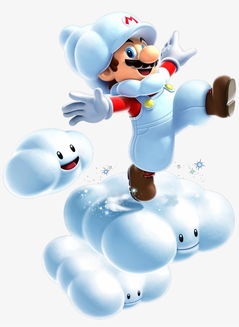 Cloud Mario - Super Mario Galaxy 2 Cloud Mario, transparent png #388880