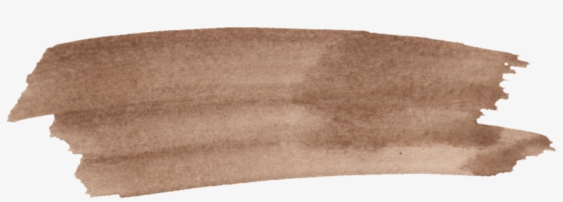Png File Size - Brown Brush Stroke Png, transparent png #389546