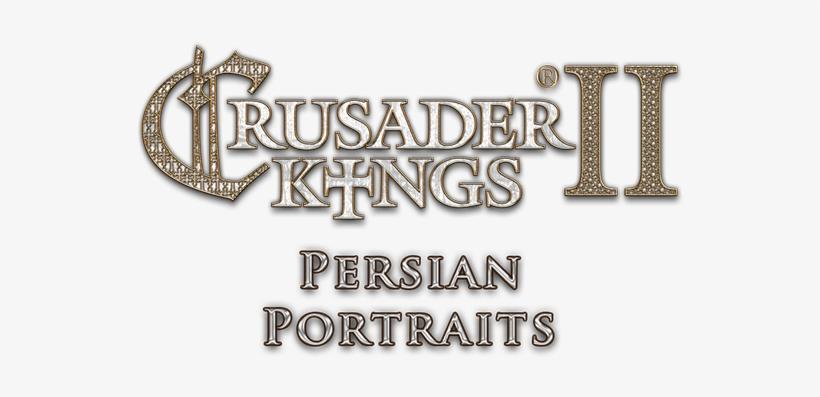 Crusader Kings Ii - Crusader Kings 2 Logo Png, transparent png #389819