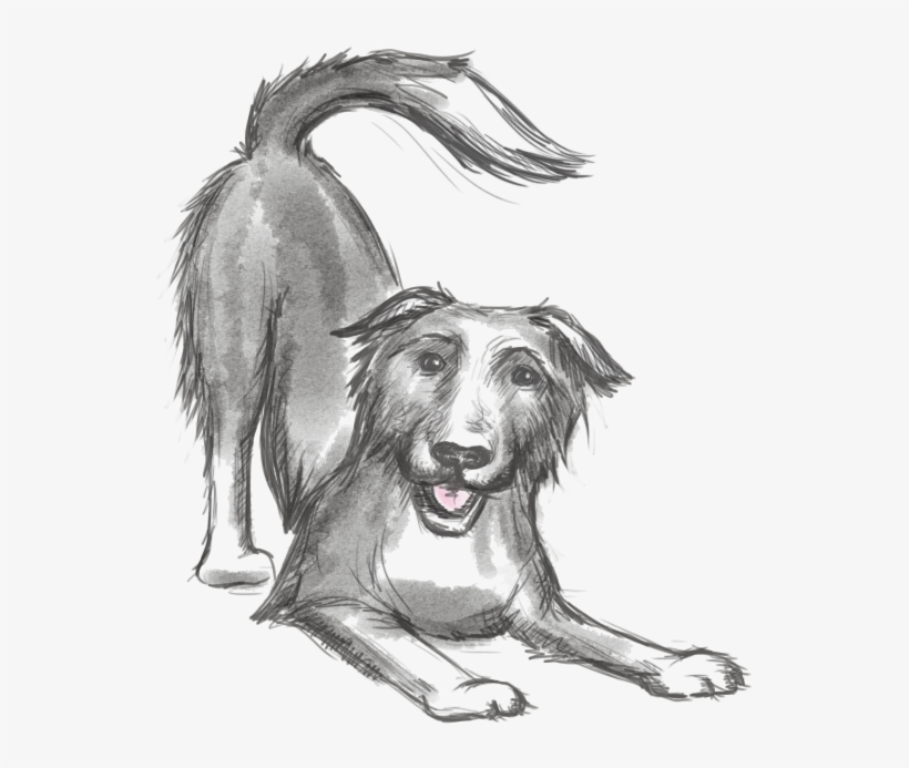Keep The Tail Wagging Icon A Sketch Of Our Dog Blue - Doberman Dog Food Diet, transparent png #3800349