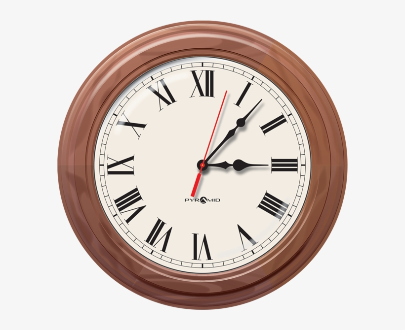 Sea6akldrw Poe Ip Network Synchronized Analog Wall - Antique Pequegnat Clock Model Moncton, transparent png #3801589
