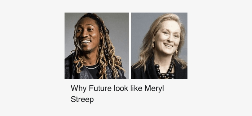 Doppelganger, Future, And Meryl Streep - Future - Monster (music Cd), transparent png #3802849