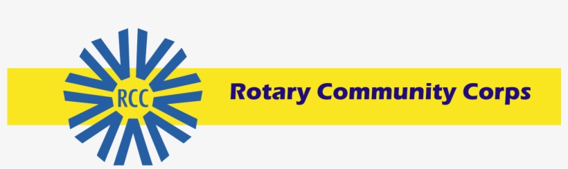 A Rotary Community Corps Is A Group Of Non-rotarians - Rotary Community Corps Logo, transparent png #3803750