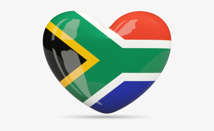 South African Flag, Flag Icon, Png Format, Flags, Peace, - South Africa Flag Heart, transparent png #3807044