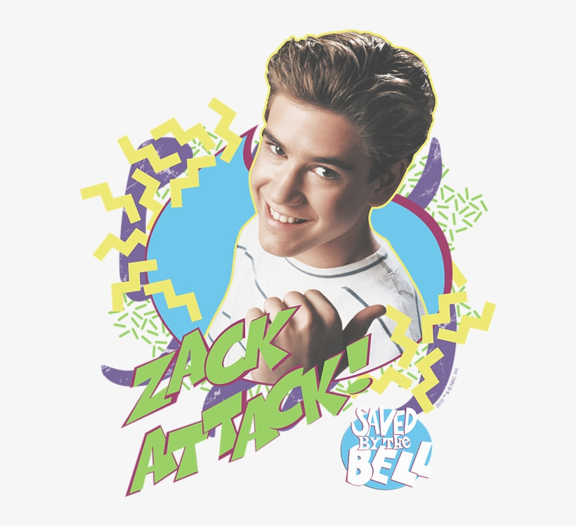 Click And Drag To Re-position The Image, If Desired - Zack Attack Saved By The Bell, transparent png #3810793