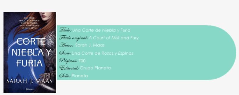 Una Corte De Niebla Y Furia, transparent png #3817113
