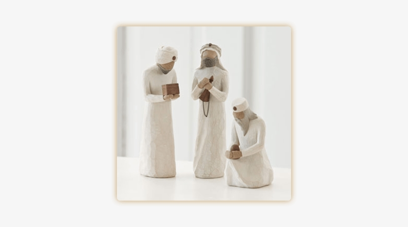 Willow Tree The Three Wisemen Figurine, transparent png #3820738