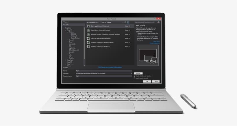 Microsoft Announces Ai Platform For Windows Developers - Machine Learning Laptop, transparent png #3820795