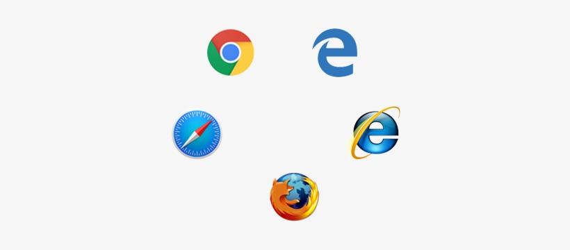 Deploy Content To All Major Web Browsers, Chrome, Safari, - Internet Explorer, transparent png #3821138